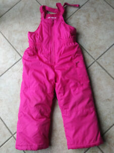Snow Pants for a Girl. Size 4