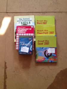 College textbooks Agricultural Program
