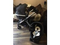 Chicco urban travel system brand new unused parts