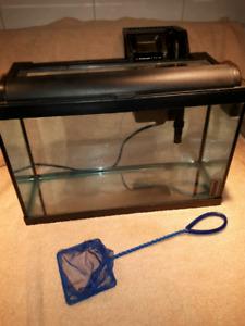 aquarium 5gal avec filtreur