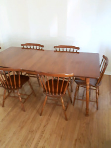Incredible Maple Dining Chair Kijiji In Ottawa Gatineau Area Buy Home Interior And Landscaping Elinuenasavecom