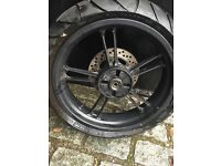 Yamaha r125 wheel and other spares