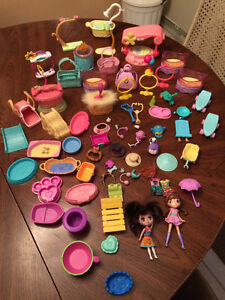 Littlest pets shops and huge accessory collection