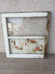 Vintage window decor