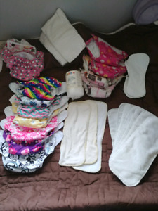 (girls) Cloth diapers