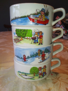Set of Four - Campbell's collectible Soup Bowls