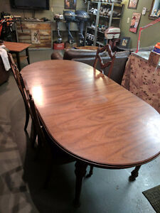 Full Gibbert dinning table and chairs