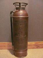 Original copper fire extinguisher with hose $68