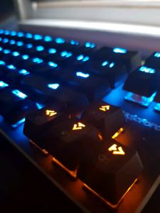 Mechanical Gaming Keyboard Mini 68 Keys Black