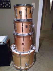 70's Premier Resonator Drum Kit