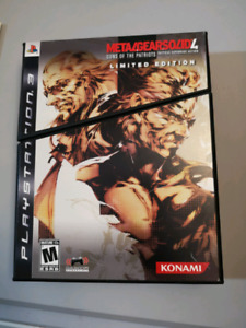 Metal Gear Solid 4: Guns of the Patriots Limited Edition For PS3