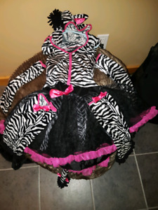 Various girls costumes