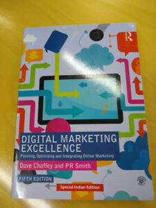 Digital Marketing Excellence - Dave Chaffey, PR Smith - Textbook