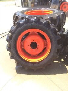 Tractor tires and rims like new