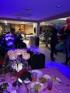 Special event space, Party hall, birthdays, small banquet: DIY