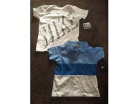 NIKE TSHIRTS x 2 BRAND NEW WITH LABELS