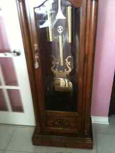 Large Colonial Times Traditional Style Grandfather Clock London Ontario image 4
