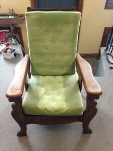 Antique Morris Recliner Chair Stratford Kitchener Area image 2