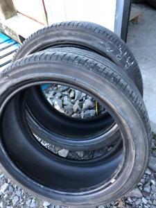 2x pneus d'été 225/45R18 91w Yokohama Avid S34