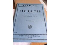 Six suites for cello by bach