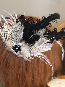 Bridal headpieces, Fascinators, hair clips, Feather headbands West Island Greater Montréal image 8