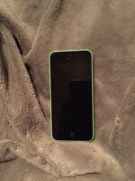 iPhone 5c Green and life proof case