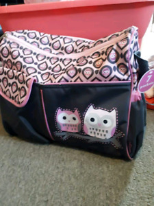 Baby girl clothing And diaper bag