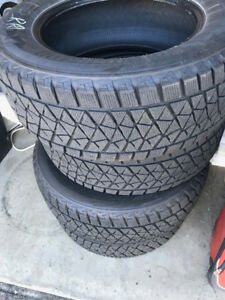 Winter tires 265/60R18 110R