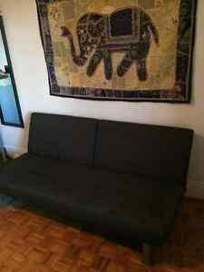 Charcoal Couch/Futon