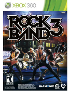 Wanted - Rock Band 3 Xbox 360