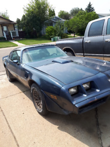 1981 Pontiac Firebird TransAm For Sale by owner.