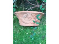 Large garden wall / fence planter