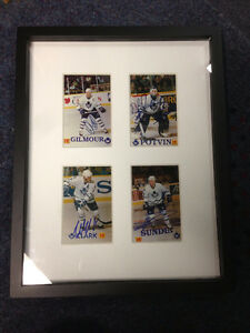 Collectable Autograph Photos of Classic Toronto Maple Leafs