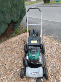 """LAWN KING 21"""" SELF PROPELLED PETROL LAWNMOWER REDUCED £100 QUICK SALE"""