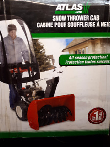 Snow Thrower Cab / Universal cab for snow blowers