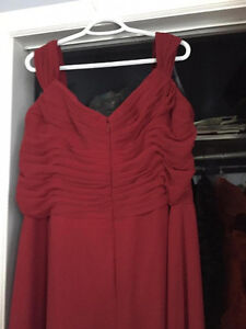 Beautiful Burgundy Dress St. John's Newfoundland image 3