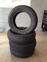 4 almost new winter tires 185/65R14