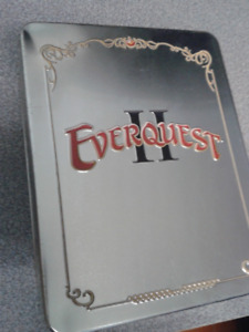 EverQuest II: Collector's Edition COMPLETE IN TIN Coin Cloth Map