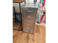Industrial metal furniture - chest of drawers