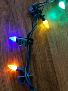 Noma LED quick clip outdoor Christmas lights