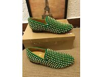 christian louboutin slippers sneaker shoes brand new size 4-11 uk no adidas nike yeezy nmd