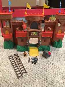 Castle toy set with dragons and troll Moose Jaw Regina Area image 1
