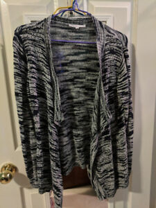 CLEO sweater with waterfall type design (Size S/ 6-8)