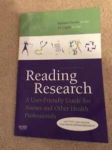 Nursing research book Edmonton Edmonton Area image 1