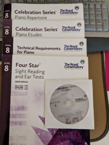 RCM piano Level 8 books 2015 edition