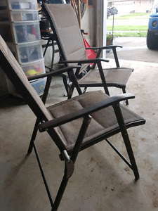 Patio Set w/ table, chairs, umbrella & stand