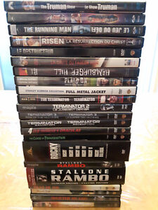 Lot de 30 films DVD