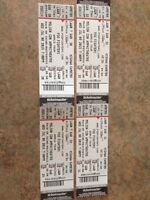 4x Foo Fighter Tickets - July 8th - Lawn