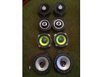 JBL Vibe Fusion Kenwood door parcel shelf speakers