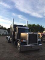 Custom grain hauling
